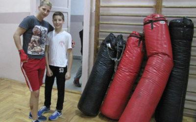 Trening u Zemunskoj gimnaziji 02