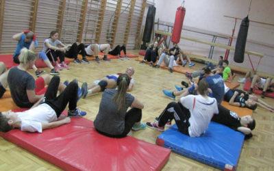 Trening u Zemunskoj gimnaziji 04