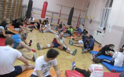 Trening u Zemunskoj gimnaziji 05