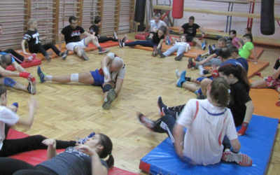 Trening u Zemunskoj gimnaziji 06