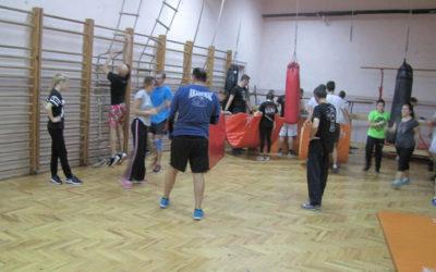 Trening u Zemunskoj gimnaziji 07