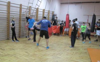 Trening u Zemunskoj gimnaziji 08
