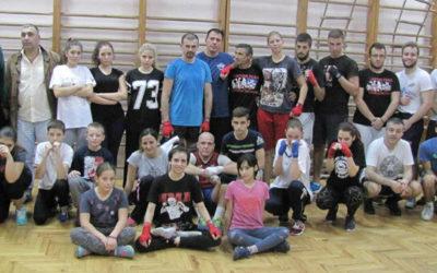 Trening u Zemunskoj gimnaziji 09