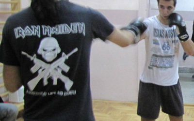 Trening u Zemunskoj gimnaziji 12
