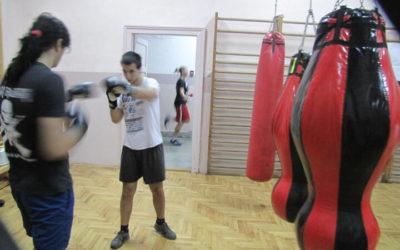 Trening u Zemunskoj gimnaziji 13