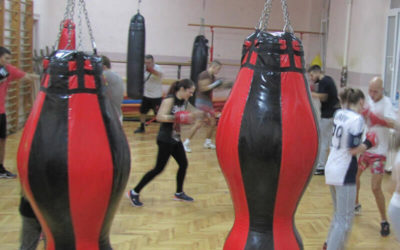 Trening u Zemunskoj gimnaziji 14
