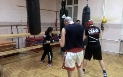 Trening u Zemunskoj gimnaziji 16