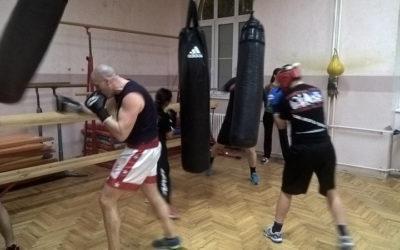 Trening u Zemunskoj gimnaziji 17