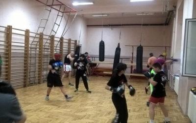 Trening u Zemunskoj gimnaziji 18