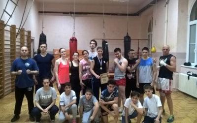 Trening u Zemunskoj gimnaziji 19