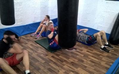 Trening u sali Akademac 16