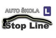 Auto kuća Stop line
